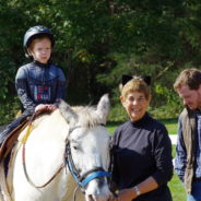 Volunteering at Hoofbeats Therapeutic Riding Program by Elsa Burrows