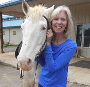 Nancy Bidlack, Our EQUUS Foundation Champion